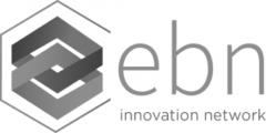 Logo ebn en noir et blanc
